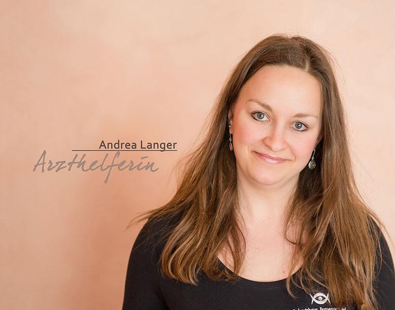 Arzthelferin Andrea Langer