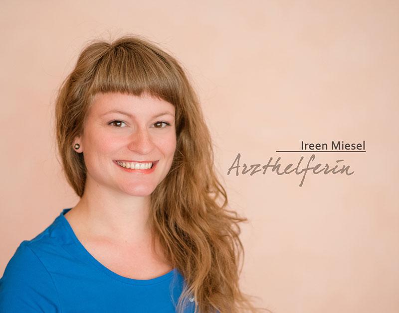 Arzthelferin Ireen Miesel