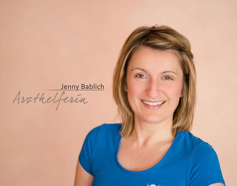 Arzthelferin Jenny Bablich