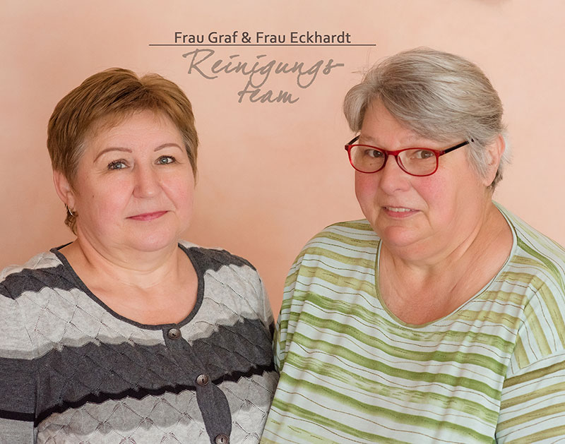 Frau Graf und Frau Eckhardt